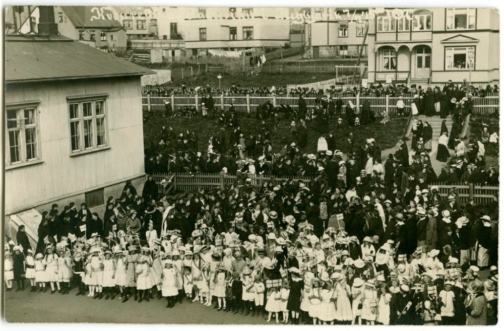Icelanders Celebrate The 100 Year Anniversary Of Women's Suffrage