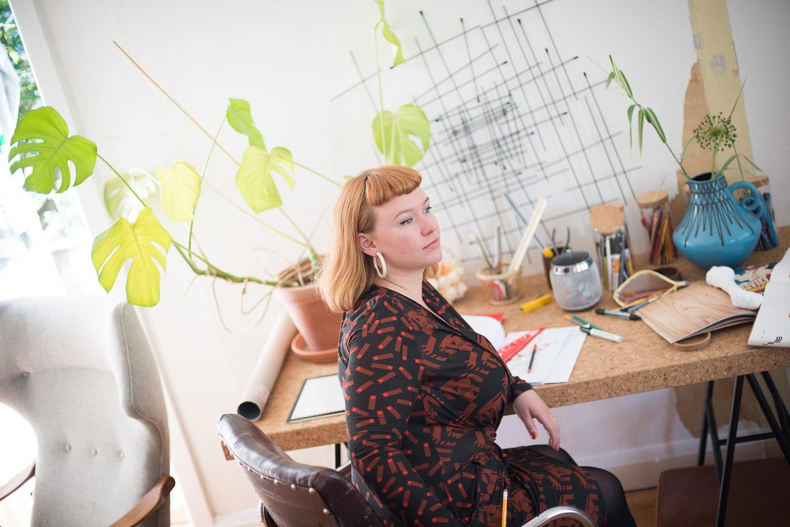 Artist Talk With Fashion Designer Elsa Vestmann
