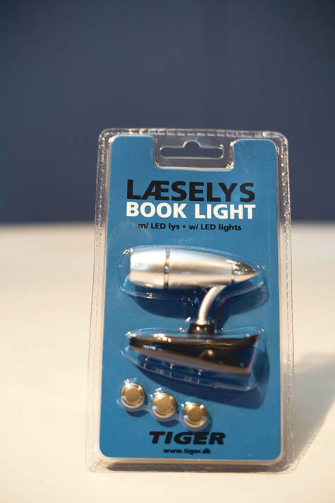 Reading Light Clip