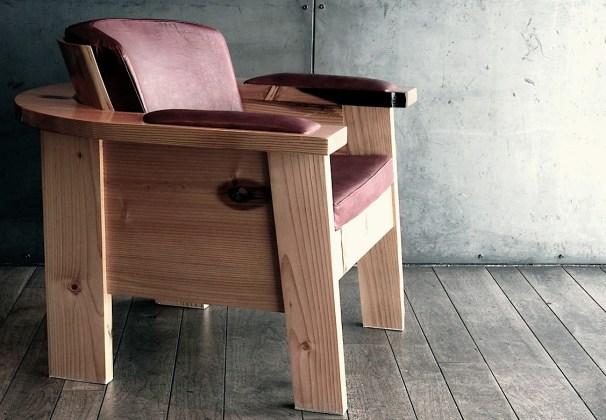 Jonni's award-winning chair design, Andagift.