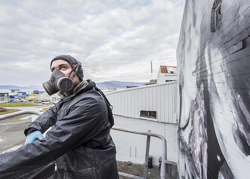 Australian Artist Reclaims Reykjavík's Rough Walls