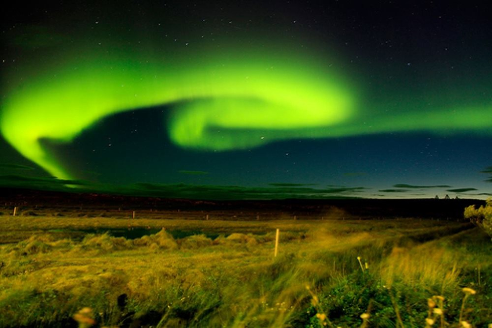 Northern Lights In Raufarhöfn