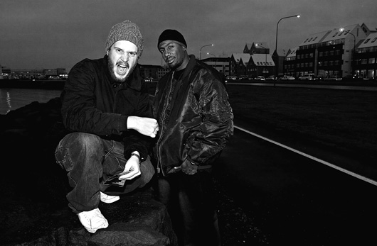 ANTLEW AND MAXIMUM: Predecessors of Icelandic Hip-Hop