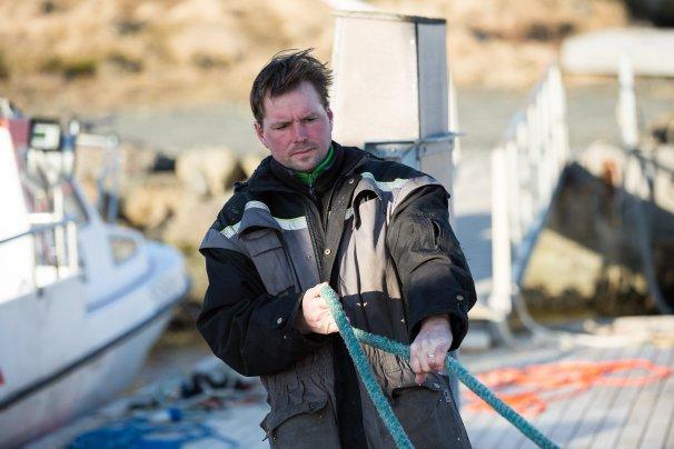 Svavar Grímsey fisherman by Art