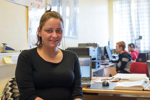 Karen Nótt Grímsey teacher by Art