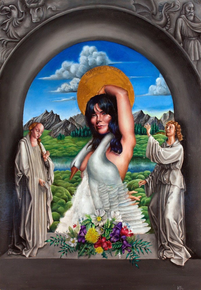 Virgin Mary vs. Björk: Helga Thoroddsen Explores Female Sexuality In Her 'Fabularum' Exhibition