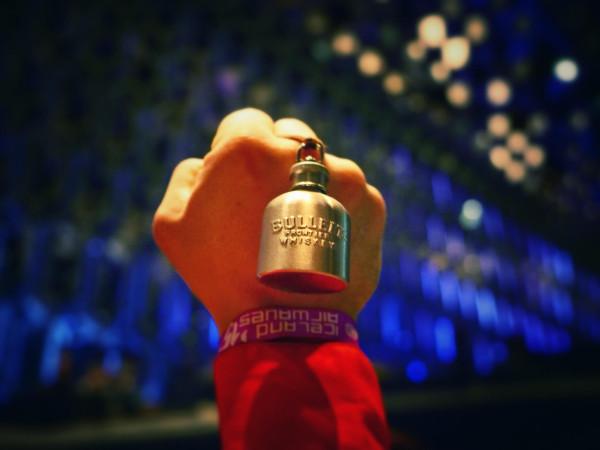 World's Smallest Hip flask