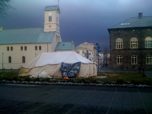 Tents Around The Tower