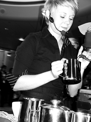 CAPPUCCINO CHANGE-UP: Iceland's 2005 Barista Competition