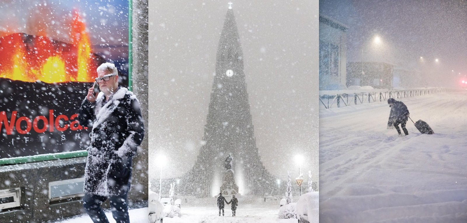 The Photographer Who Captured Snowmageddon As It Happened
