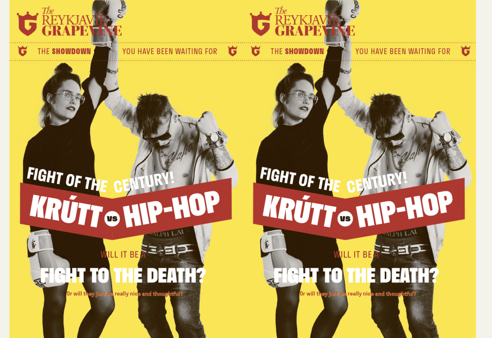 Krútt Vs. Hip-Hop: The Fight You've Been Waiting For