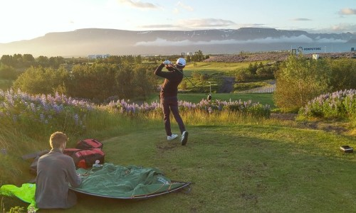 Tourist Camps On Golf Course