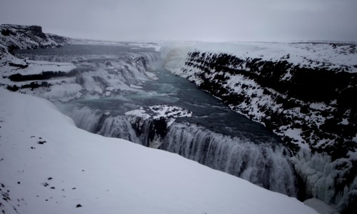 Dangerous Tourist Behavior At Gullfoss