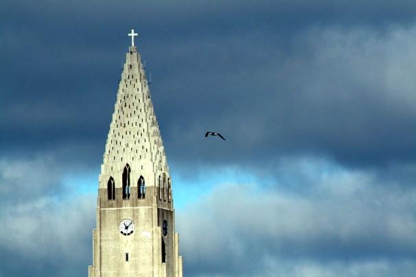 hallgrímskirkja, church, religion, iceland, tower, church tower, mass