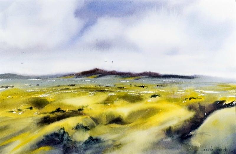 Don't Miss It: Moss In Watercolours