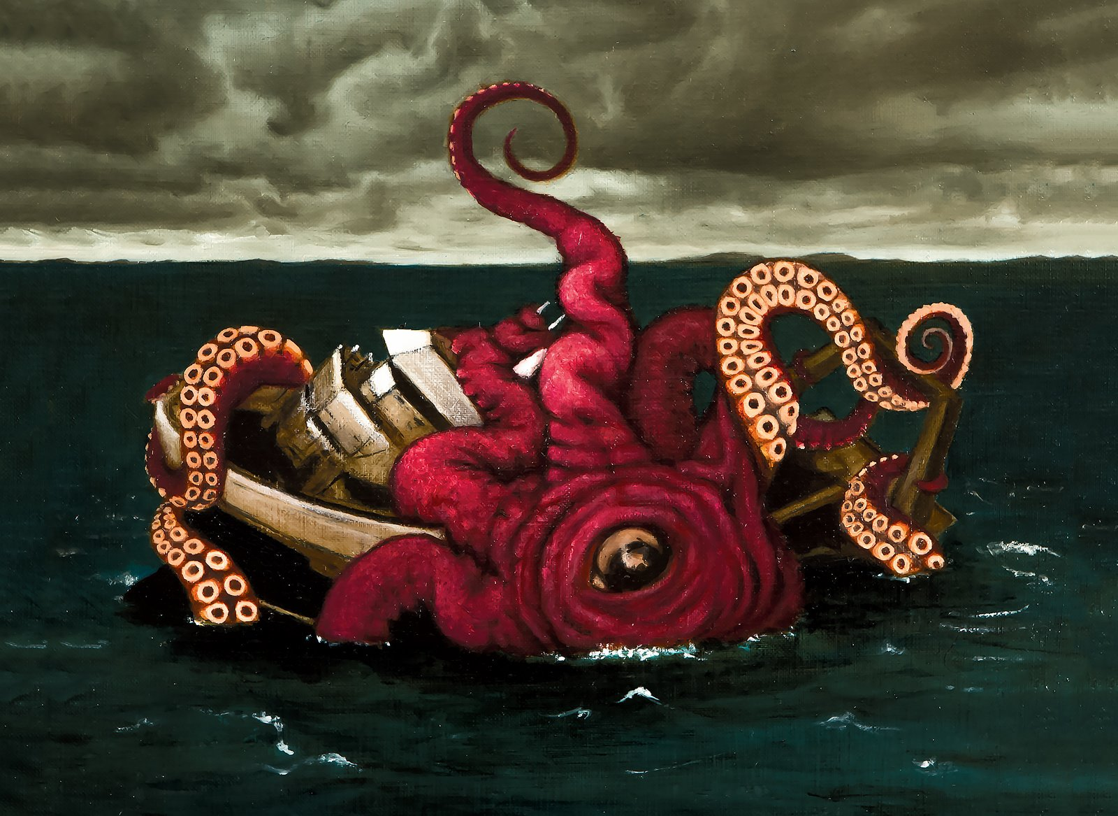 Monster of the Month: Kráki – Kraken