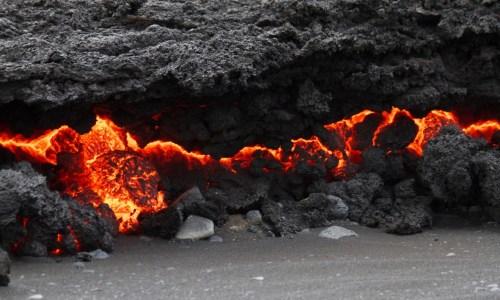 Holuhraun: 4 Square Kilometres Of Lava