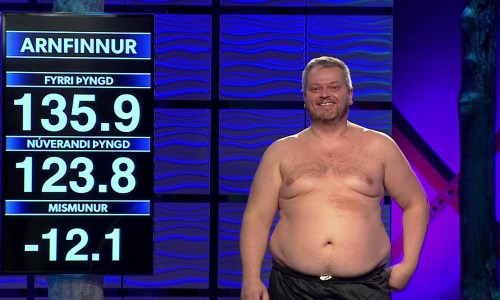 """Iceland's Biggest Loser"" Is The Most Erotic Show On TV"
