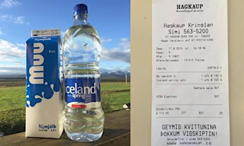 Milk Cheaper Than Bottled Water In Iceland