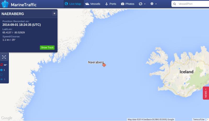 Faroese Ship Bids Iceland Adieu
