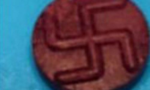 Swastika-Emblazoned Pills Strike Again