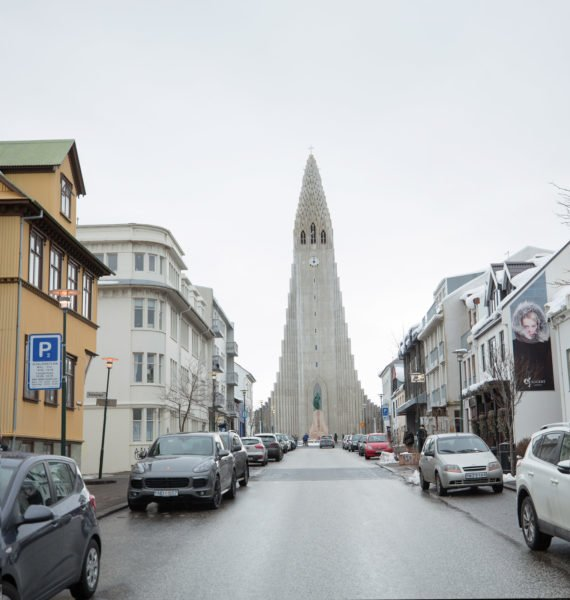 Hallgrimskirkja New by Art Bicnick