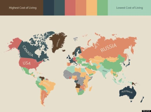 Consumer price index, World