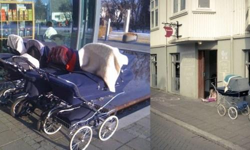 Australian TV Host Shocked By Icelandic Babies Sleeping Outside