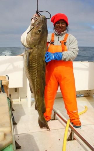 A 32 kilo cod!