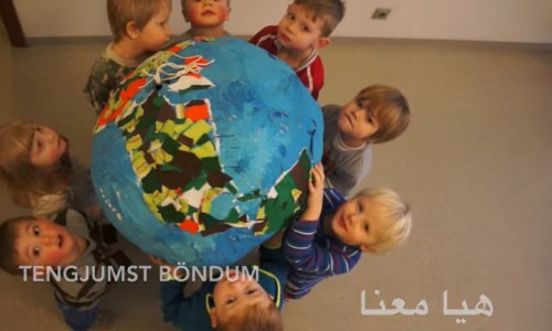 Icelandic Children Greet Refugee Classmate With Arabic Song