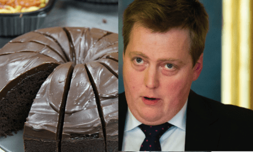 Iceland PM Accused Of Eating Cake Again