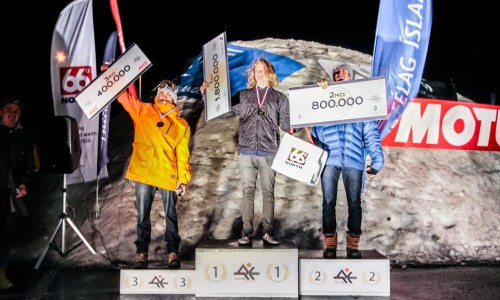 Voll Wins At Iceland Winter Games Again