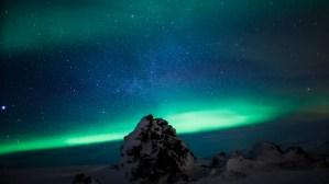 Heild still, aurora borealis