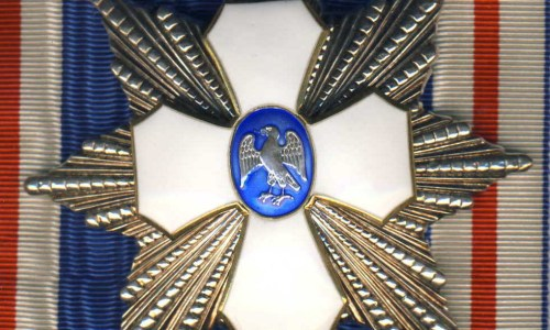 "PM Discreetly Awarded ""Order Of The Falcon Grand Cross"""