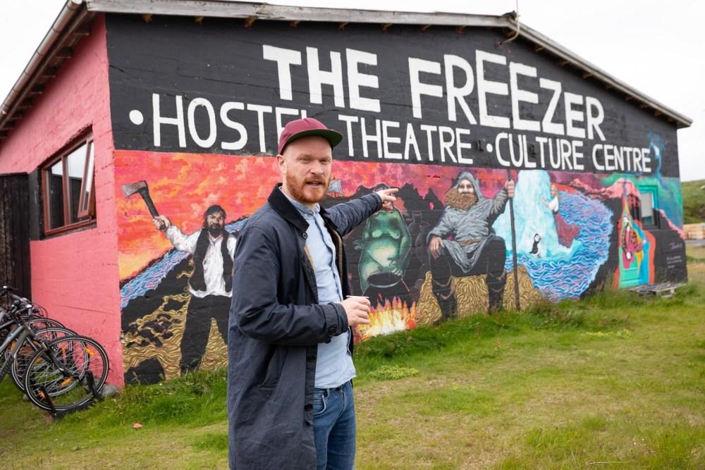 Brighten The Corners: Kári Viðarsson Brings Street Art To Snæfellsnes