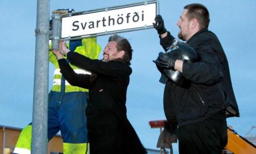 "Reykjavík Street Now Called ""Darth Vader"""