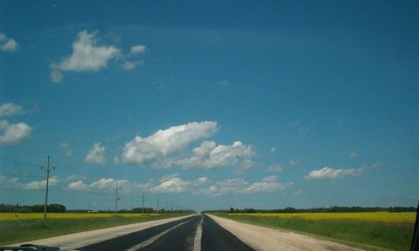 The Manitoba landscape