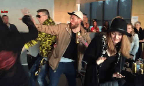 Bam Margera Gets Punched In The Face By Icelandic Rapper – VIDEO