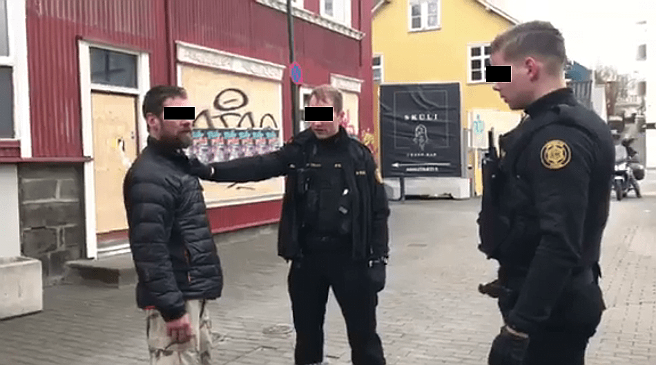VIDEO: Man With Knife Disrupts March For Our Lives Rally In Iceland