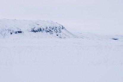 Snowy Countryside Borgarfjörður Hraunfossar by TimotheeLambrecq