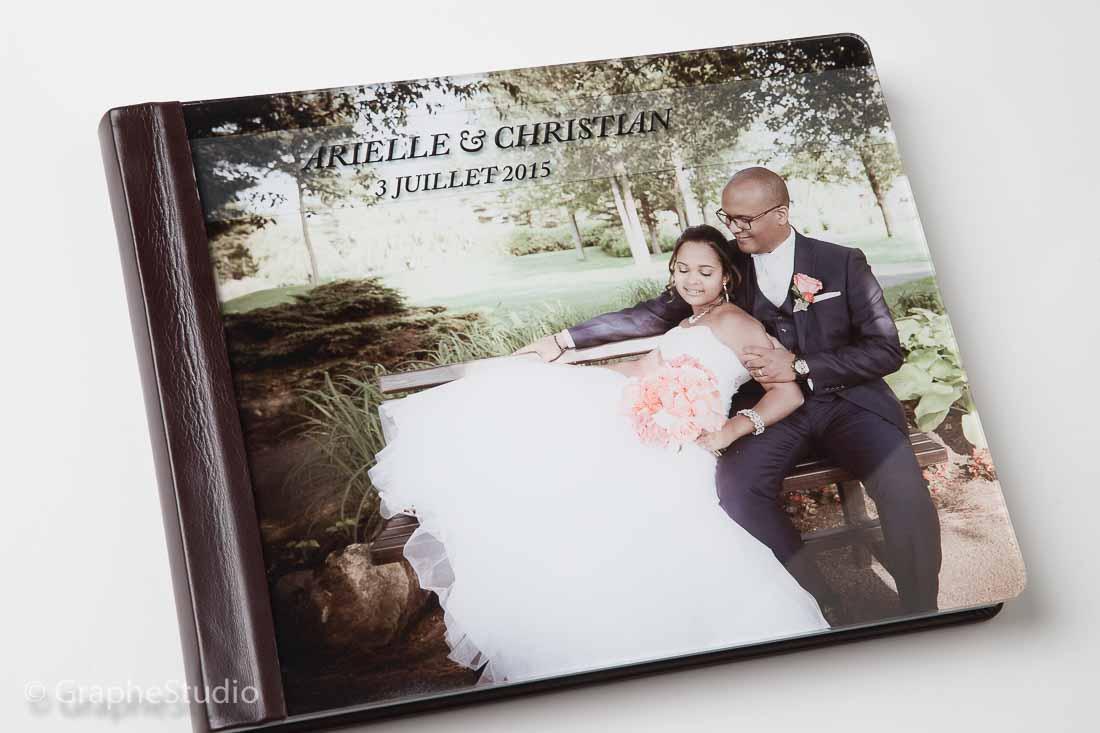Albums de mariage GrapheStudio photographe Montral RiveSud