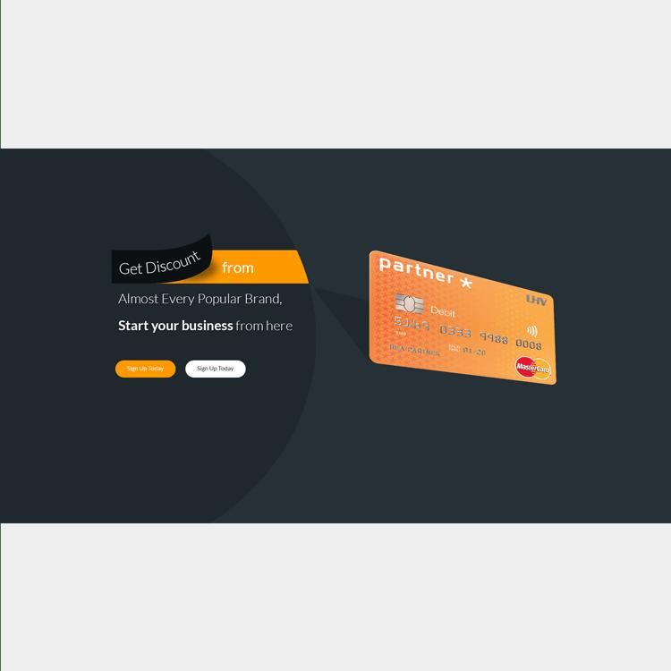 PSD Banner Design for eCommerce website
