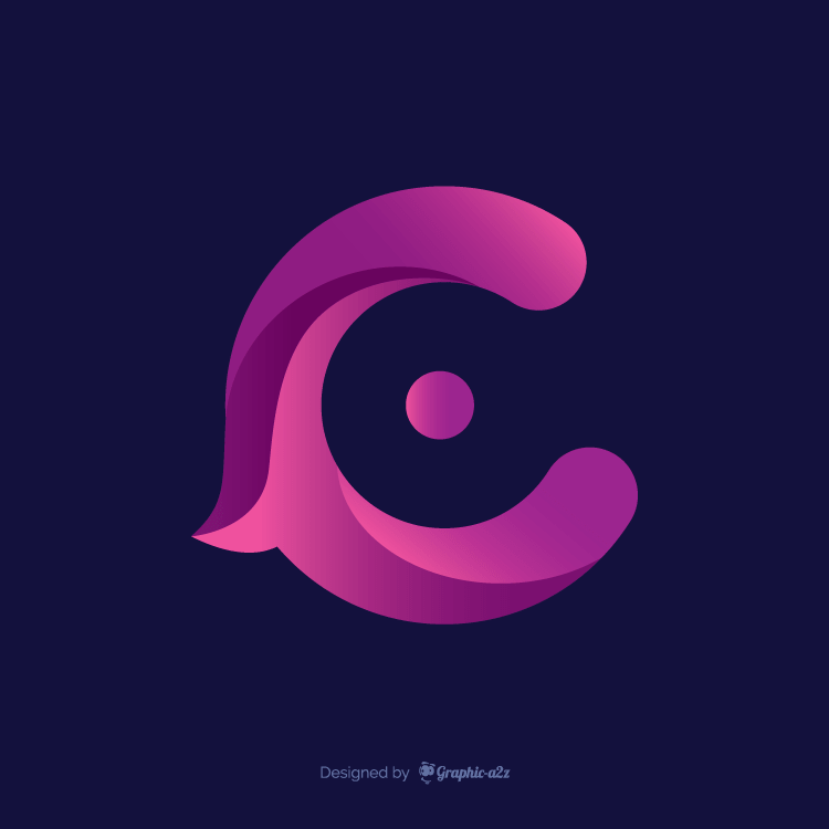 letter c logo icon graphica2z