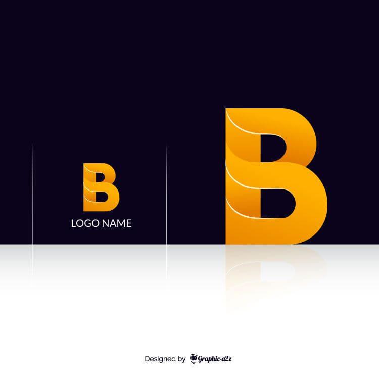 Creative letter B vector logo