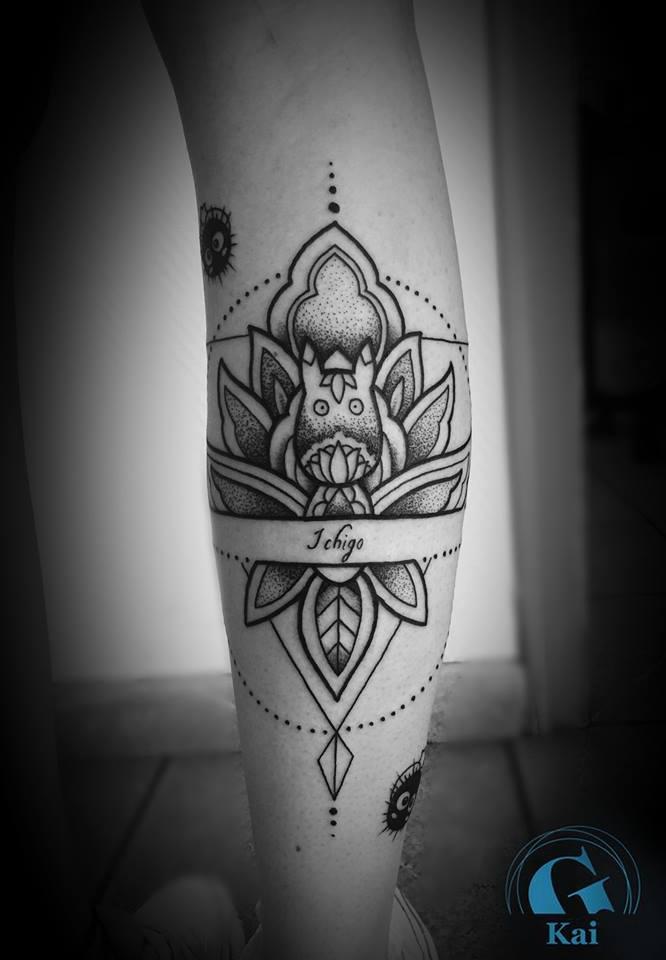 Tatouage Mandala Graphique  Inkage