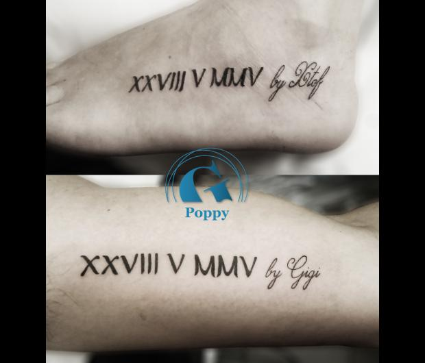 Tatouage Couple Graphicaderme