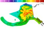 Alaska High Temperature Forecast Image