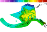 Alaska High Temperature Forecast Image