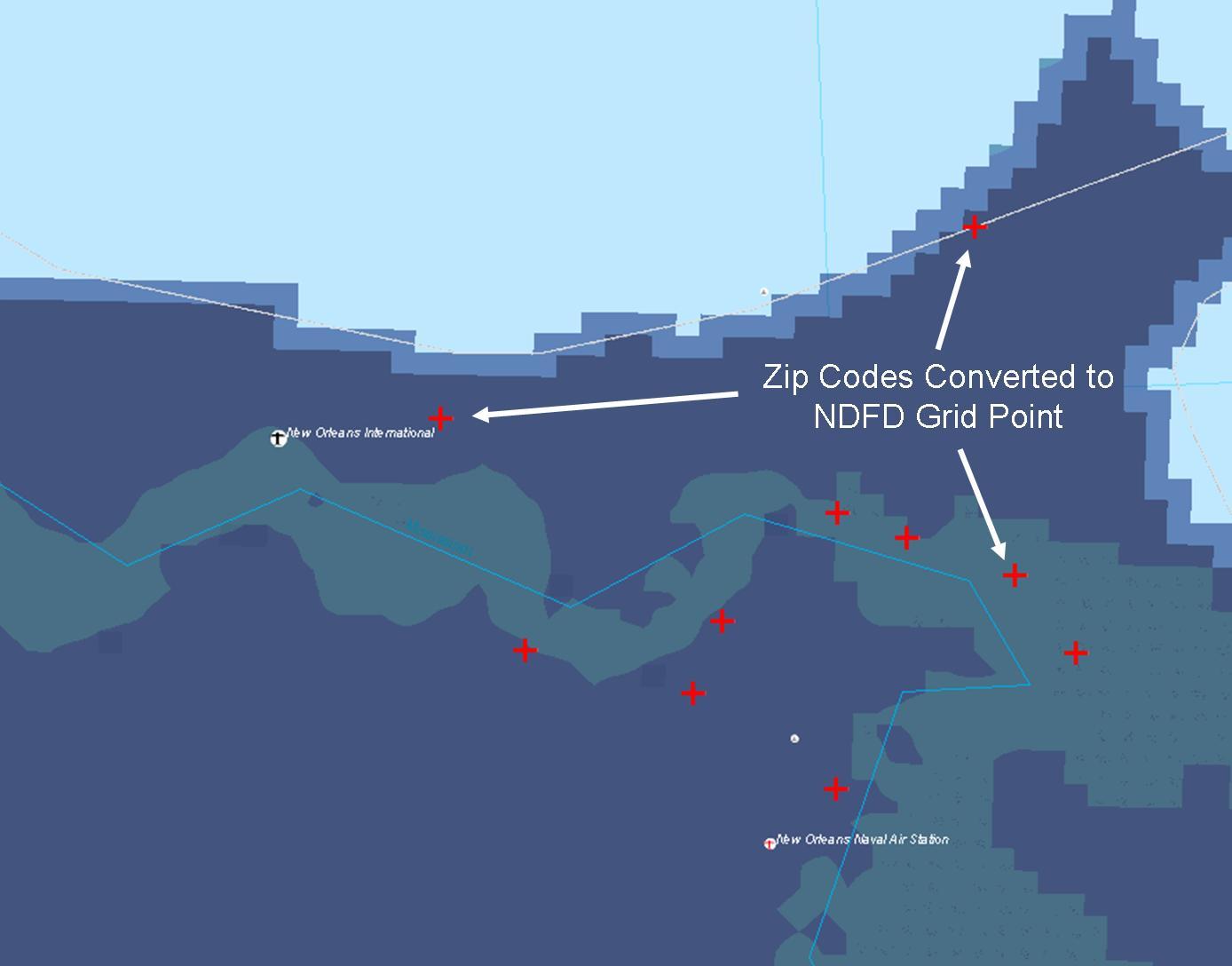 National Digital Forecast Database XMLSOAP Service  NOAA