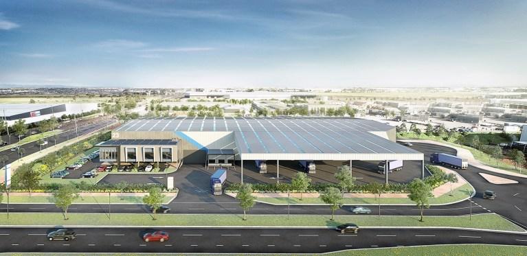 Industrial Render, Melbourne North - VIC